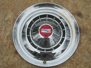 1954 Chevy Bel Air Two Ten 15 Wheel Cover Hubcap One 1