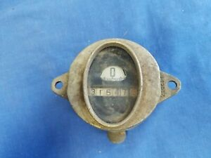 1928 1929 Early 1930 Ford Model A Oval Northeast Electric Company Speedometer