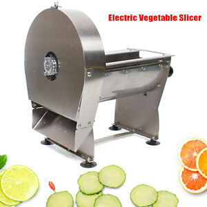 Electric Potato Chip Cutter French Fries Cut Slicer Commercial Potato Cutter New