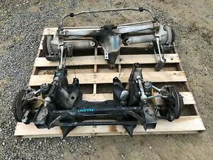 84 87 Corvette Front Rear Suspension Undercarriages W Carrier Brakes See Pic