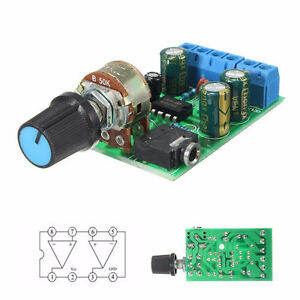 Dc1 8 12v Tda2822m Amplifier 2 0 Channel Stereo 3 5mm Audio Board Module Ta Us