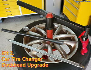 Unlimited Duckhead Upgrade For A Harbor Freight Car Manual Tire Changer