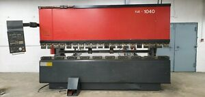 Amada Press Brake Fbd 1040 Nc9ex2 100 Tons