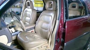 02 06 Buick Rendezvous Heated Leather Front Seat Set Left Right Camel Oak