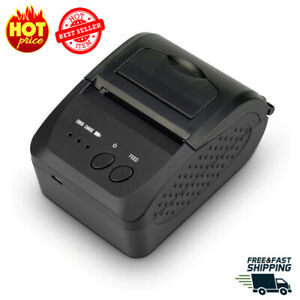 Direct Thermal Shipping Label receipt Portable Printer Wireless Barcode Pos