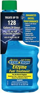Star Brite High Concentrate Enzyme Diesel Fuel Stabilizer Cleaner Treatment 8oz