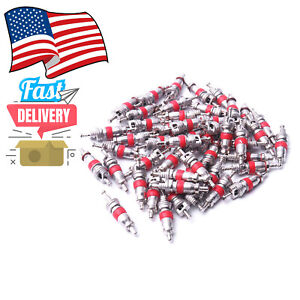 Car Truck Replacement Tire Tyre Valve Stem Core Part 100 Pcs In Us