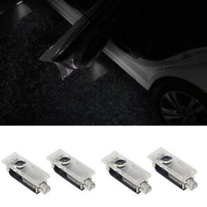 4pcs Led Car Courtesy Door Logo Light Ghost Shadow Laser Projector For Bmw