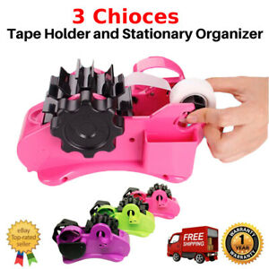 Us Heavy Duty Packing Tape Dispenser Packing Cutting Sealing Holder Desktop Ow