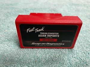 Snap On Mt2500 2497 Scanner Cartridge Asain Import Thru 1997 Troubleshooter