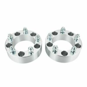 2pcs 2 Hubcentric Wheel Spacers 5x5 5 Adapters 9 16 Studs For Dodge Ram 1500