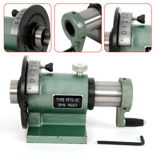 5c Precision Spin Index Fixture Collet For Milling New