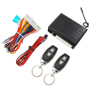 Car Keyless Entry System Remote Control Key Central Door Lock Kit