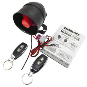 Car Alarm System Remote Control Central Door Keyless Entry Anti Theft Device