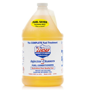 Lucas Luc10013 Fuel Treatment Injector Cleaner Upper Cylinder Lube 1 Gallon