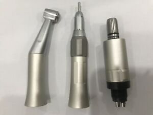 Nsk Style Dental Low Speed Straight air Motor contra Angle Handpiece 4 hole Sp