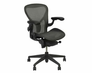 Herman Miller Aeron Task Chair Remastered C Fixed Posture Fit