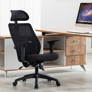 High Back Office Chair Breathable Mesh Executive Ergonomic Computer Desk Chair