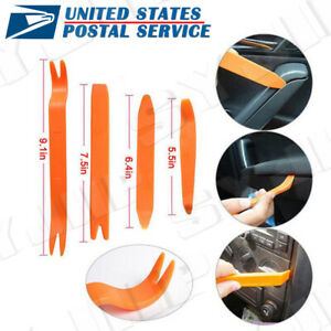 Plastic Car Panel Pry Tool Kit Door Body Clip Trim Removal Set For Bmw New