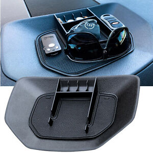 Center Console Storage Box Tray Armrest Container For 2014 2020 Toyota Tundra