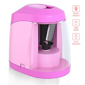 Electric Pencil Sharpener Battery Operated Pencil Sharpener For School Office