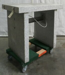 R173254 Granite Balance Scale Isolation Anti vibration Table 32x24x31