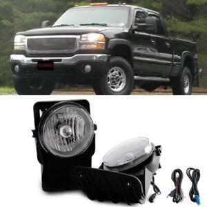 Free Shipping To Pr For 03 06 Gmc Sierra 1500 2500 3500 Hd 2007 Classic Fog Lamp