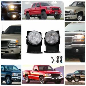 Find The Right Fog Lights Kit For Your Gmc Sierra 03 06 In The Description