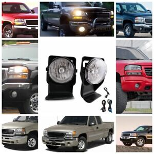 Discover Correct Replacement Fog Lamp Kit For Gmc Sierra 03 06 1500 2500 3500
