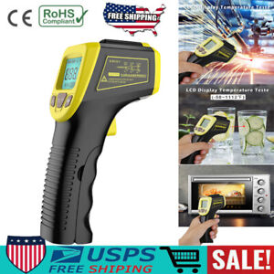 Digital Thermometer Infrared Temperature Gun Non contact Ir Laser Point Lot