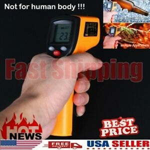 Non contact Digital Thermometer Infrared Handheld Temperature Gun Ir Laser Point