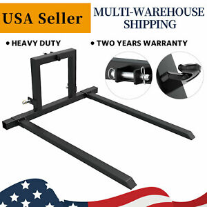3 Point Tractor Pallet Forks Hitch Forks Category 1 Tractor Mover Attachments
