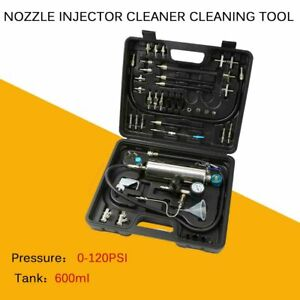 Automotive Non Dismantle Fuel Injector Cleaner Kit And Tester For Petrol Cars Us