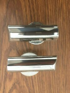 1965 Mercury Comet Hood Fender Extension Mouldings Pair