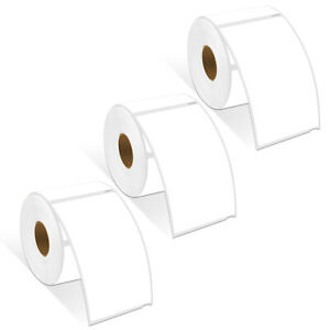 3 Rolls Large Shipping Labels For Dymo 2 5 16 X 4 300 Labels roll 59mmx101mm
