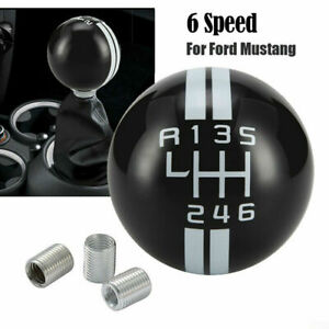 For Ford Mustang Gt500 Car 6 Speed Manual Gear Shift Knob Shifter Lever Stick