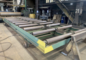120 X 360 Powered Traversing Roller Conveyor Ybm 13384