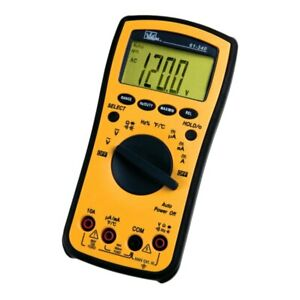 Test pro Digital Multimeter With Temp Cap Hz Backlight ac dc Voltage Ac dc