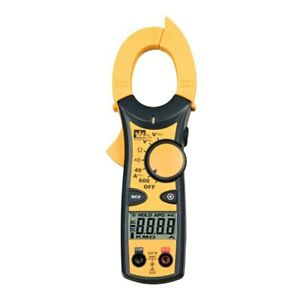 Ideal Electrical Clamp pro 600a Clamp Meter W Non contact Voltage