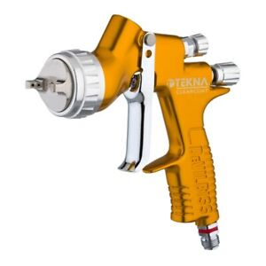 Devilbiss Tekna Hvlp Clearcoat Gravity Feed Spray Gun