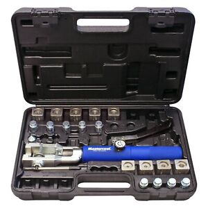 Mastercool Double Flare Metric Bubble Flaring Tool Set