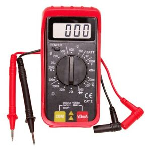 Mini Digital Multimeter With Holster ac dc Voltage Dc Current Resistance