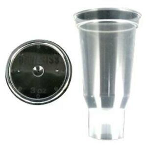 Devilbiss Dekups 24 Pieces 3 Oz Disposable Gravity Feed Cups W Lids