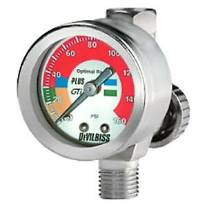 Devilbiss Air Adjusting Valve W Gauge