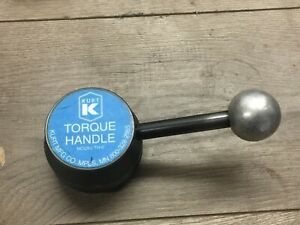 Kurt Torque Handle 6 W 3 4 Hex No Th6