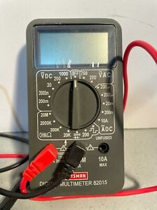 Craftsman 82015 Multimeter With Leads 1666