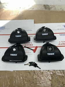 Thule 460r Rapid Podium Foot Pack Locks Fit Kit 3142