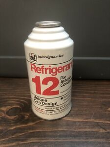Interdynamics Refrigerant 12 For Auto Air Conditioners 6 Available