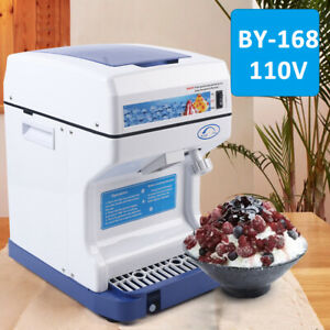 New Commercial Electric Ice Shaver Ice Crusher Snow Cone Machine Ice Maker 250w