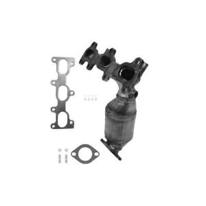 Catalytic Converter With Integrated Exhaust Manifold Fits 2001 Hyundai Santa Fe